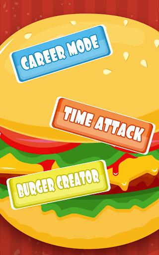 ゲームフリップハンバーガー