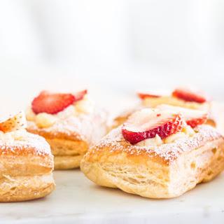 Strawberry Croissants.