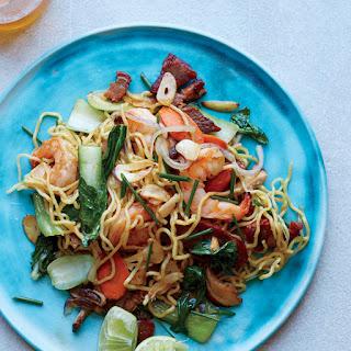 Shrimp-and-Pork Pan-Fried Noodles