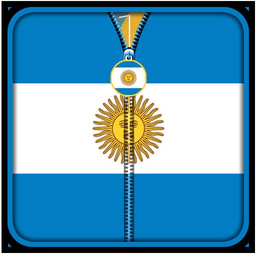 Argentina Flag Zipper UnLock 工具 App LOGO-硬是要APP
