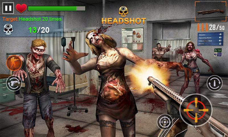 Zombie Shooter 3D- screenshot