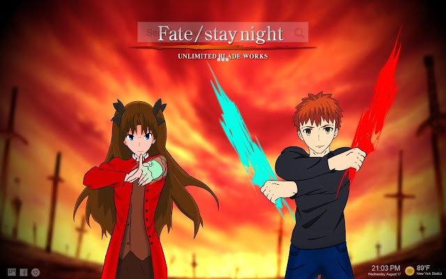 Fate Unlimited Blade Works Backgrounds