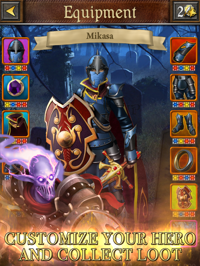 Book of Heroes - screenshot