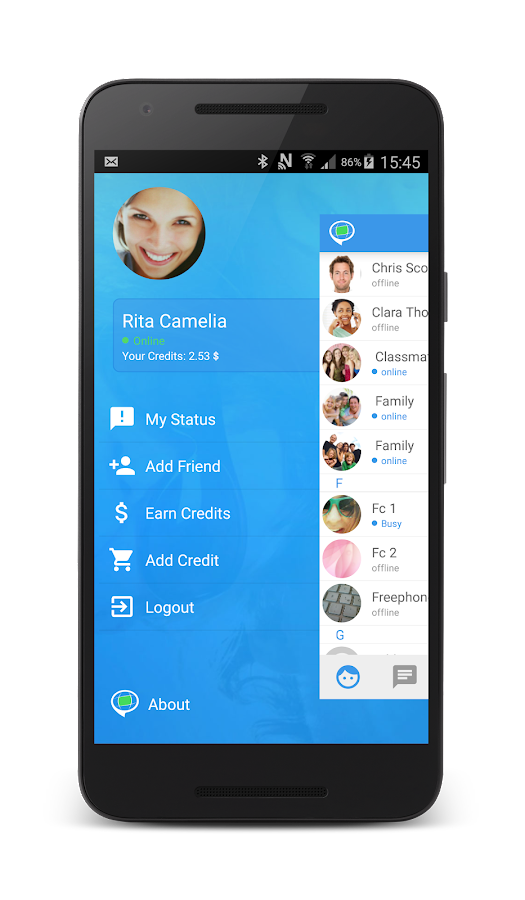 Video Chat by FriendCaller- screenshot