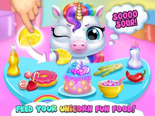 My Baby Unicorn - Virtual Pony Pet Care & Dress Up android2mod screenshots 13