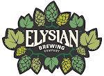Logo of Elysian Superfuzz Blood Orange Pale Ale