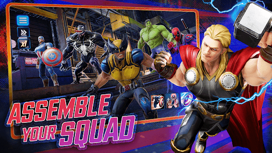 MARVEL Strike Force Squad RPG 3.8.2 MOD (Skill has no cooling time) 1