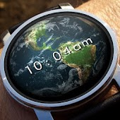 Earth 3D Watch Face