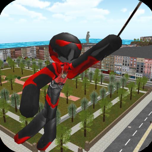 Stickman Rope Hero (game)