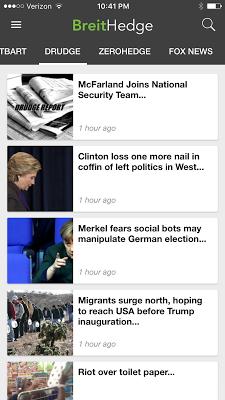 Breitbart + ZeroHedge + Drudge - screenshot