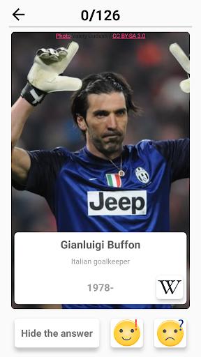 Soccer Players - Quiz about Soccer Stars!  screenshots 8