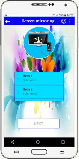 Connector Tv ( usb-otg-hdmi-mhl-connect phone ) screenshot 3