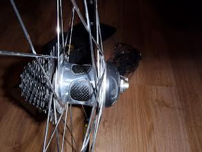 Photo: Close-up of hub. Sorry, no cassette.