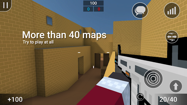 Bloķēt Strike APK screenshot thumbnail 1