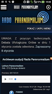 Radio Paranormalium Lite- screenshot thumbnail