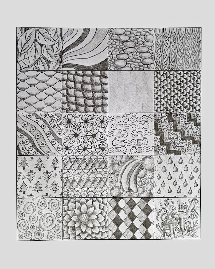 Mindful Patterns by Ingrid Anderson-Riley - Drawing All Drawing