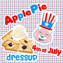 Apple Pie 4th of July Dressup icon