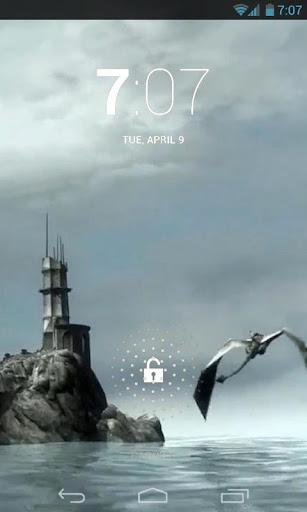 Amazing Dragon Live Wallpaper 2.0 screenshots 2