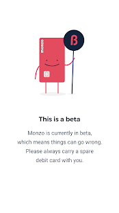 Monzo Bank- screenshot thumbnail