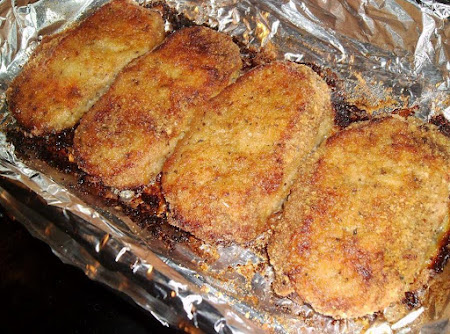 Parmesan Baked Pork Chops Recipe