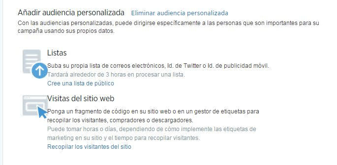 Remarketing en Twitter