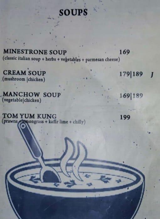 Road House Cafe Bar menu 5