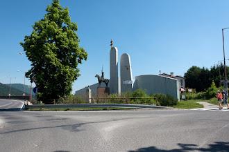 Photo: Pomnik J.M. Hurbana w Budatinie.