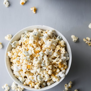 Buffalo Blue Cheese Popcorn