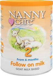 NANNYcare Follow On Milk - Stage 2, From 6 Months, 900g