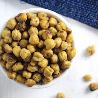 Roasted Chickpeas with Sea Salt & Pepper Recipe
