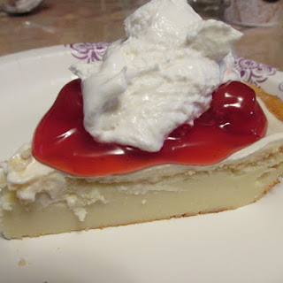 Impossible Cheesecake Pie.