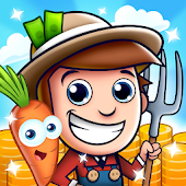 Idle Farming Empire - Fun Free Farm Game Icon