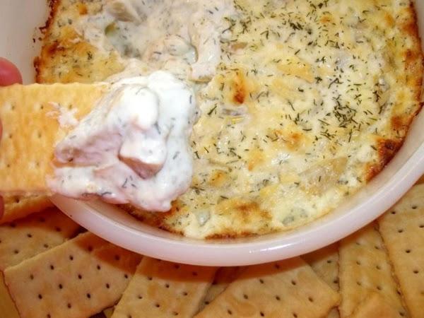 Warm & Creamy Artichoke & Dill Dip - So Good! Recipe