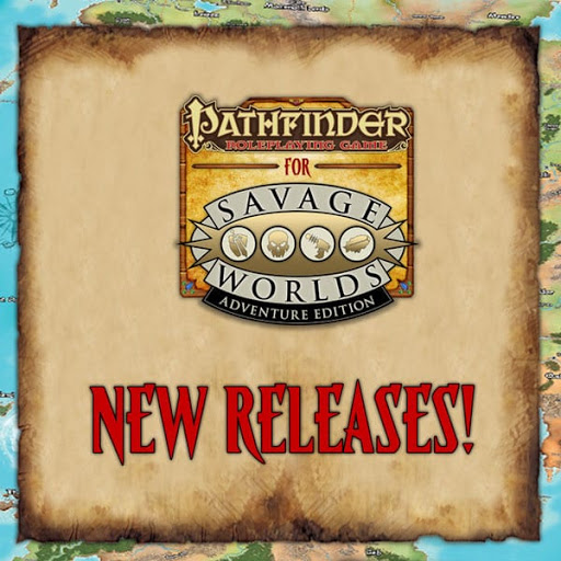 Pathfinder® for Savage Worlds Releases