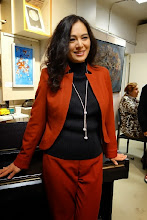 Photo: Yuko Mitani bei der Eröffnung (26. Septemer 2013). Foto: Peter Skorepa