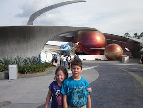 Photo: At Epcot we went on Mission:Space