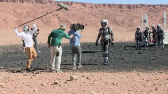BTS: On the Set of Mars