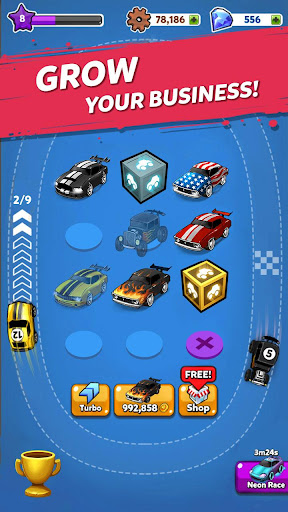 Code Triche Merge Muscle Car APK MOD screenshots 3