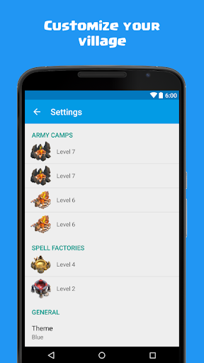 Calculator for Clash of Clans 1.5 screenshots 5