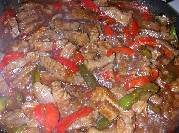 Oriental Pepper Steak Recipe
