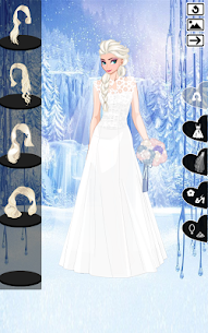 ❄ Icy Wedding ❄ Winter frozen Bride dress up game 2