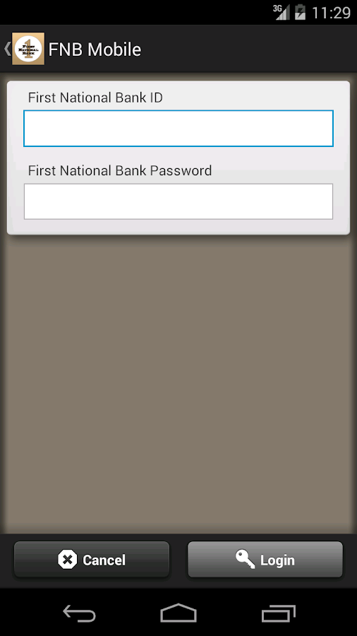 FNB Mobile on the Go- screenshot