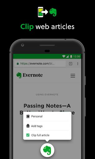 Evernote screenshot 6