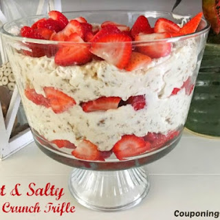 Sweet & Salty Berry Crunch Trifle