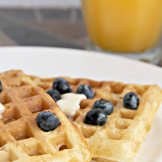 Classic Malted Buttermilk Waffle.