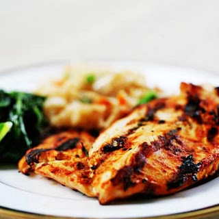 Moroccan Spiced Grilled Chicken Breasts.