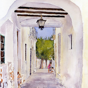 Rincon de Nijar by Margaret Merry - Painting All Painting