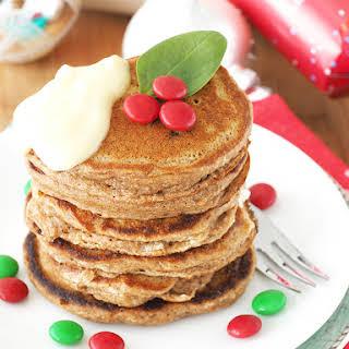 Christmas Pudding Pancakes.
