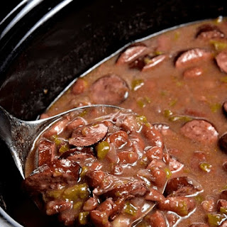 Slow Cooker Red Beans and Rice.