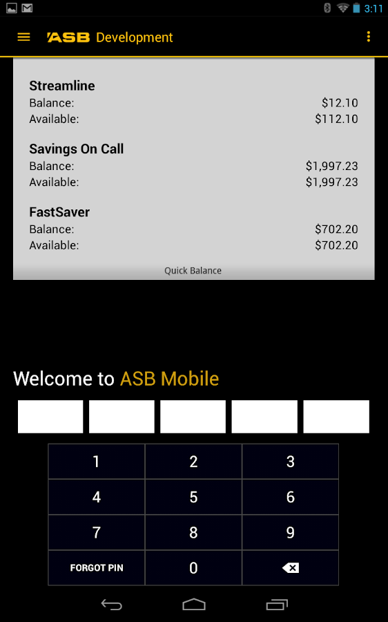 ASB Mobile Banking- screenshot